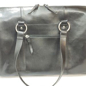 FRANKLIN COVEY GENUINE LEATHER BAG.